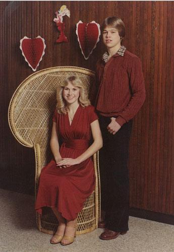 Tonya Westphalen, Brad Pitt'in ilk sevgilisiydi.