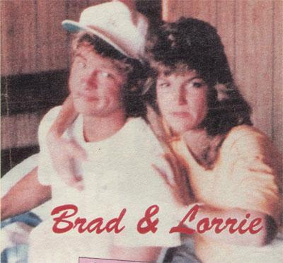 Aktör, 1984'te Lorrie M. ile beraberdi