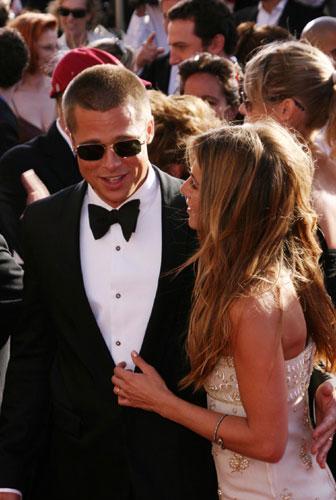 Pitt'in Jennifer Aniston ile 2000'de evlendi, 2005'te boşandı.