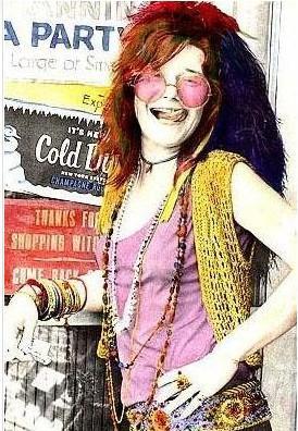 JANIS JOPLIN   : 70'li yılların müzik idolü. Dünyanın en iyi vokallerinden biriydi. 1970 yılında 27 yaşındayken aşırı dozdan öldü.