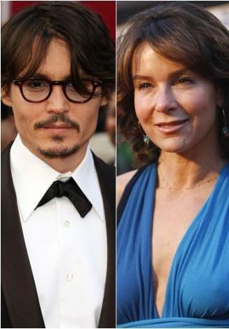 Johnny Depp ve Jennifer Grey