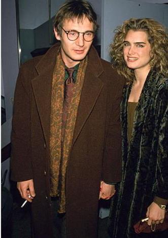 Liam Neeson ve Brooke Shields