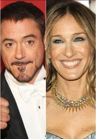 Robert Downey Jr ve Sarah Jessica Parker