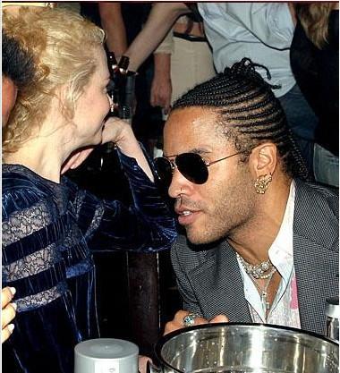 Lenny Kravitz ve Nicole Kidman