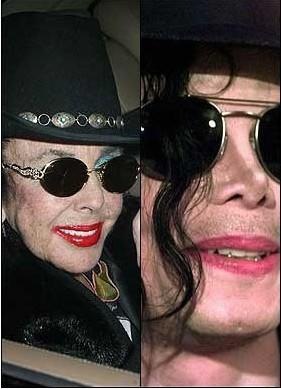 Liz Taylor ve Michael Jackson