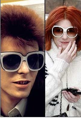 Bowie ve Nicola Roberts
