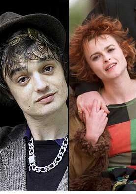 Pete Doherty ve Helena Bonham Carter