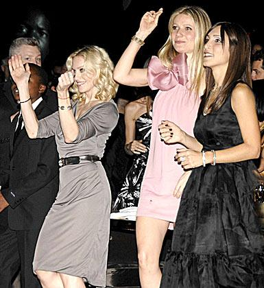 Madonna ve Gwyneth Paltrow